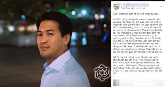 Mối quan hệ kỳ lạ giữa bố chồng Hà Tăng - ông Johnathan Hạnh Nguyễn và con trai Phillip Nguyễn