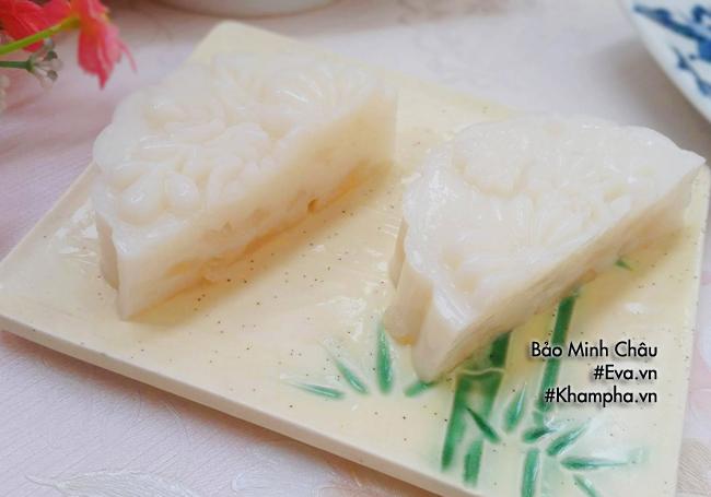 [Chế biến] - Cách làm bánh Trung thu rau câu vị nhãn thơm mát