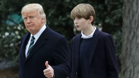 Con trai tổng thống Mỹ theo nghiệp bóng đá