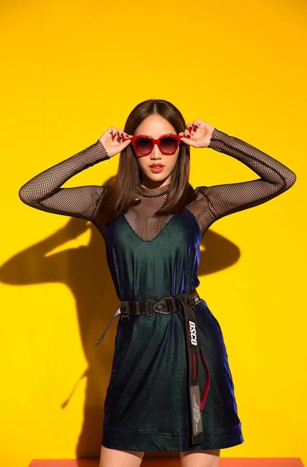Bảo Thy thử thách bản thân với phong cách thời trang gợi cảm