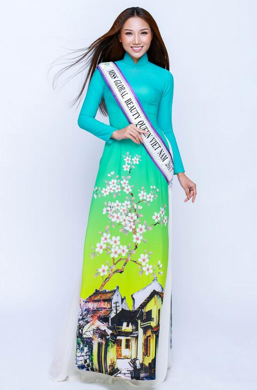 Hoàng Thu Thảo dự thi Miss Global Beauty Queen 2017