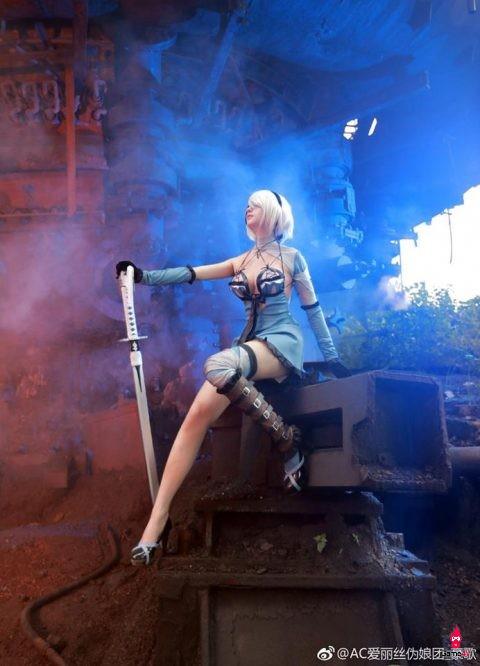 Bạn sẽ phải há hốc mồm khi xem xong bộ ảnh Cosplay nhân vật 2B trong Nier: Automata này