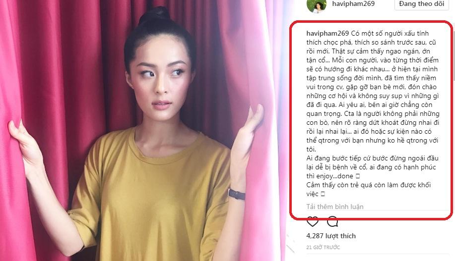 Hạ Vi phát ngôn sốc sau khi Cường Đô la - Đàm Thu Trang kết hôn