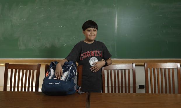 Thần đồng trẻ tuổi nhất gia nhập hệ thống giáo dục hàng đầu nước Mỹ - Hình 1