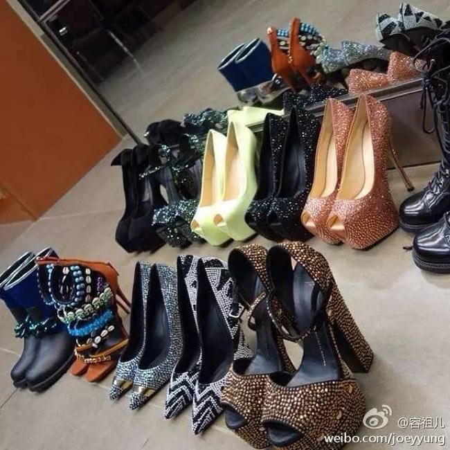 Siêu sao Hoa Ngữ biến dạng bàn chân vì sở thích đi giày cao gót quái chiêu