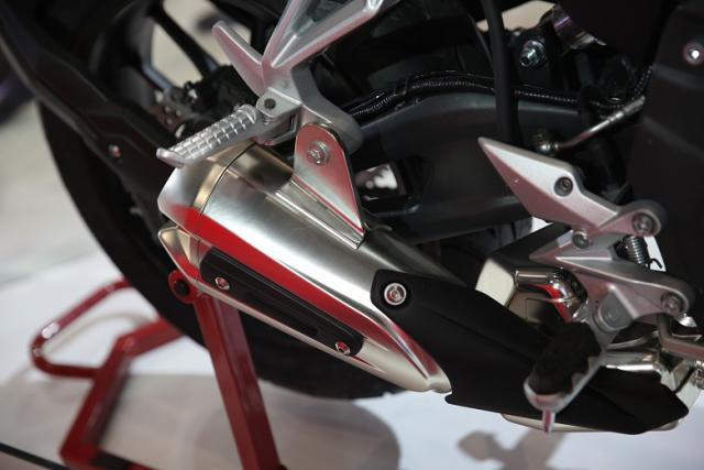 Hãng xe Trung Quốc ra mắt xe nhái Honda CB500F