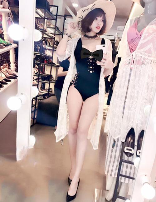 Mới sinh xong mà 3 vòng chuẩn không cần chỉnh, bà xã Lê Hoàng chia sẻ bí kíp giảm cân