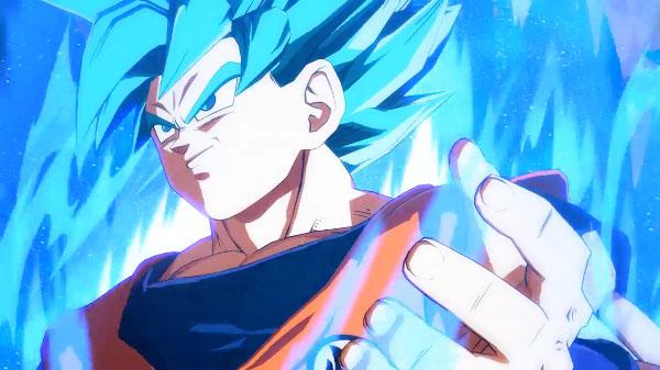 Đại chiến Vegeta và Son Goku dưới dạng Super Saiyan Blue trong Dragon Ball FighterZ