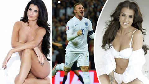 Những bóng hồng từng khiến Rooney điêu đứng