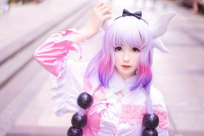 Cùng ngắm nàng rồng Kanna Kamui cực dễ thương trong Kobayashi-san Chi noMaid Dragon