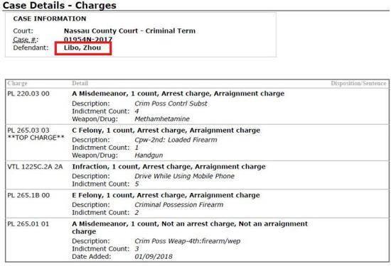 Sao Hoa ngữ bị cảnh sát Mỹ bắt giam, có thể ngồi tù tới 21 năm