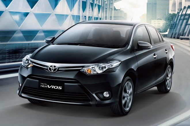 10 mẫu ô tô bán chạy nhất Việt Nam tháng 12/2017