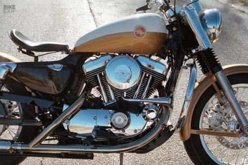 Harley-Davidson Sportster lột xác theo phong cách Ironhead
