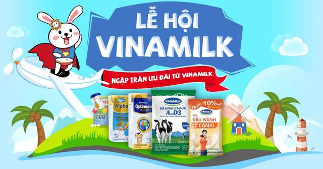 Lộc Tết Vuivui: Mua sữa Vinamilk nhận ngay bộ quà hấp dẫn
