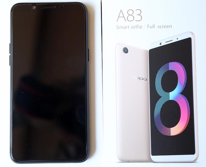 Oppo tung A83 giá rẻ với nhiều vũ khí lấy từ đàn anh