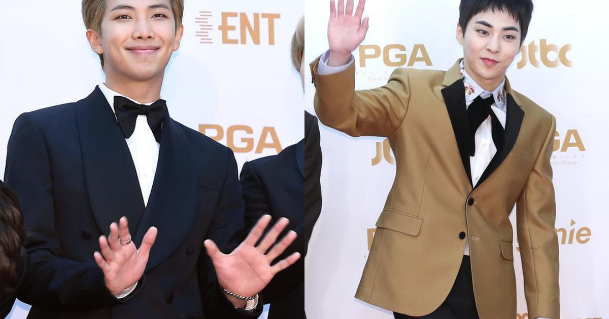 Thảm đỏ Golden Disc Awards: Bạn gái cũ Hyun Bin trễ nải khoe ngực đầy bên Taeyeon diêm dúa, EXO và BTS đọ vẻ điển trai