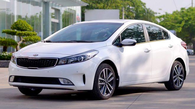 10 mẫu xe bán chạy nhất Việt Nam năm 2017