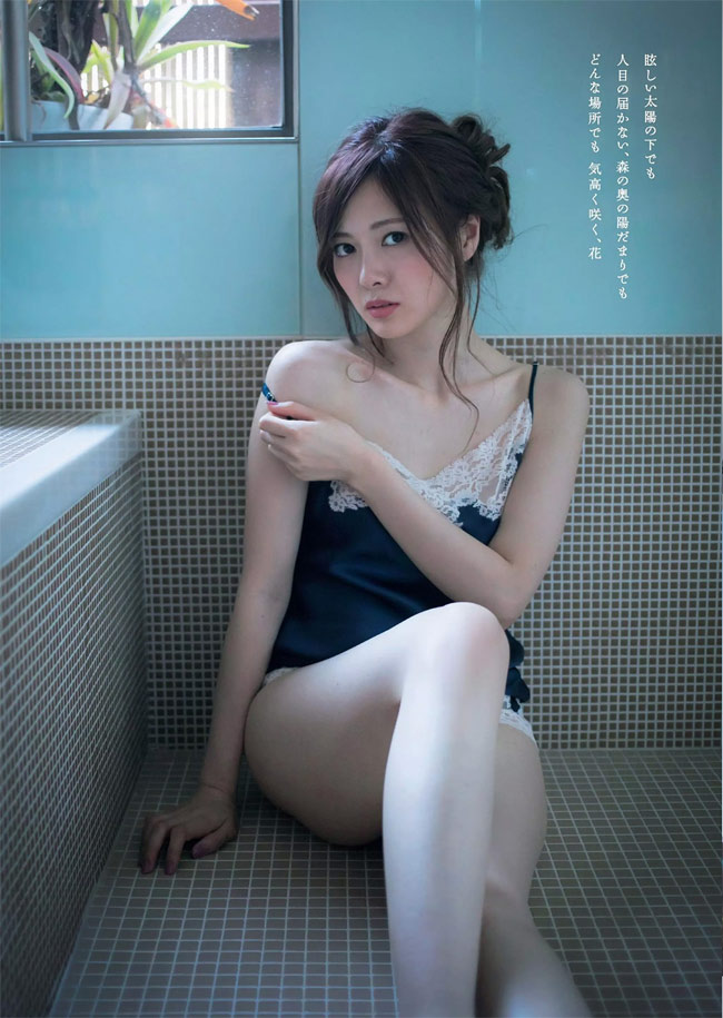 Mấy ai qua được ải mỹ nhân của nữ thần nội y Nhật Bản này