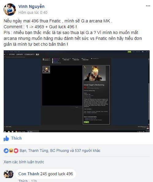 Thất bại trước Fnatic, hành trình đến ESL One Katowice DOTA 2 của người Việt đã dừng chân