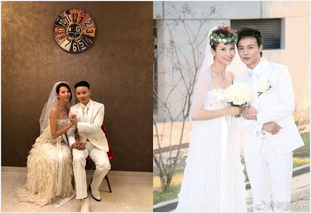 Vợ chồng mỹ nhân Chân Hoàn Truyện mặc lại áo cưới 10 năm trước để kỷ niệm hạnh phúc