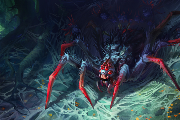 BroodMother và đàn nhện con xâm chiếm midlane tại phiên bản 7.07