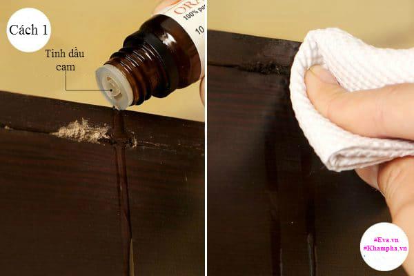Đồ gỗ hàng chục năm không hỏng nhờ 4 cách diệt mối mọt thần kì