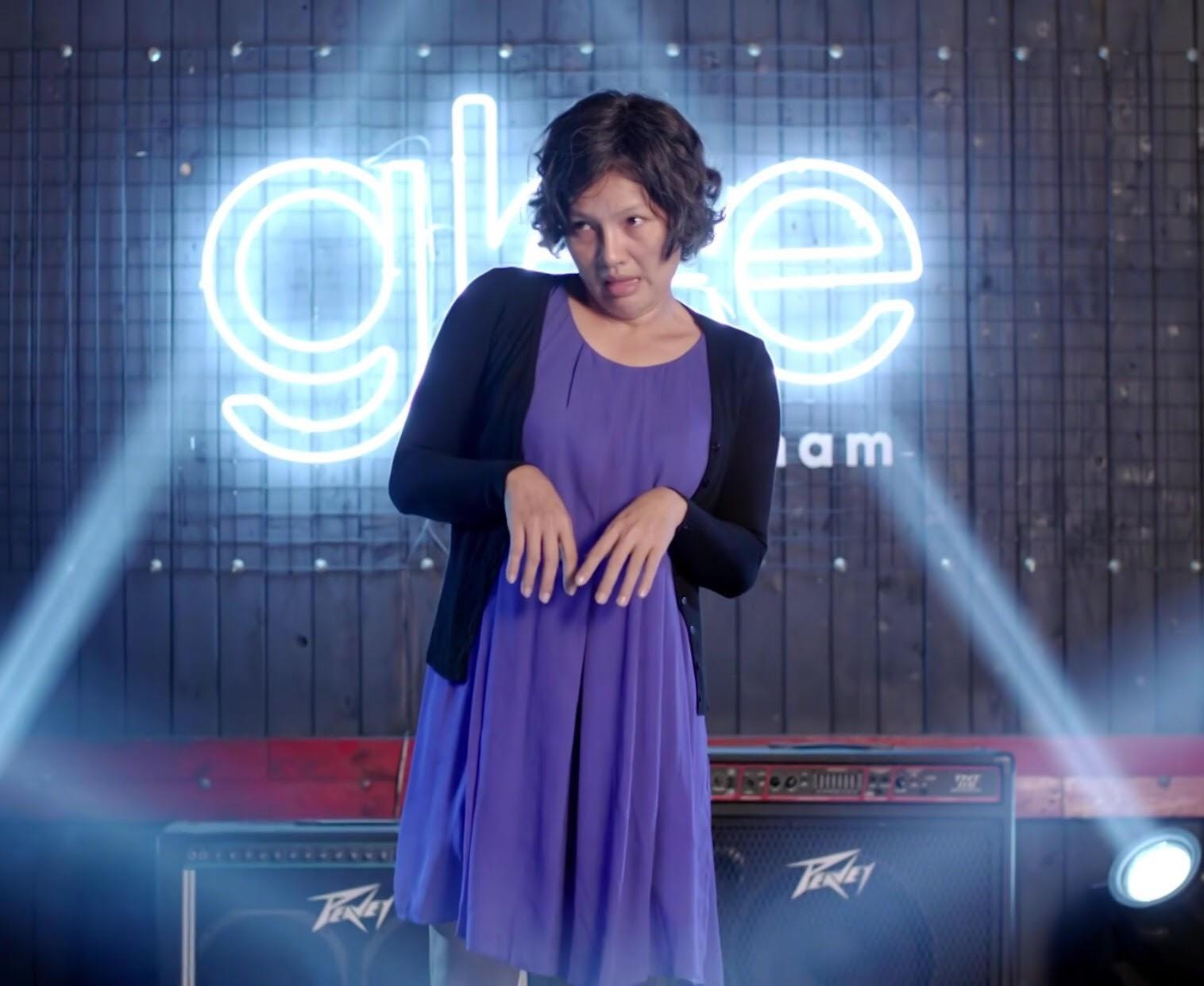 Glee Việt tập áp cuối: Để ủng hộ tinh thần Angela, toàn bộ nữ sinh của Glee đồng loạt mang bầu!