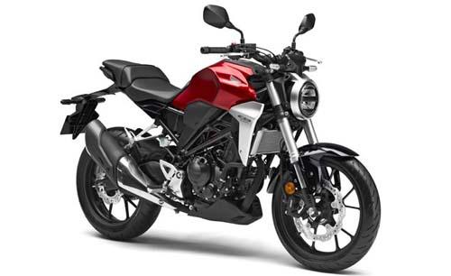 Honda CB300R 2019 thay thế cho CB300F sắp về đại lý