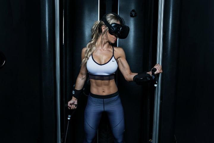 Thiết bị cho phép biến tập gym thành game nhập vai, các tạ thủ nay đã khỏe lại còn vui