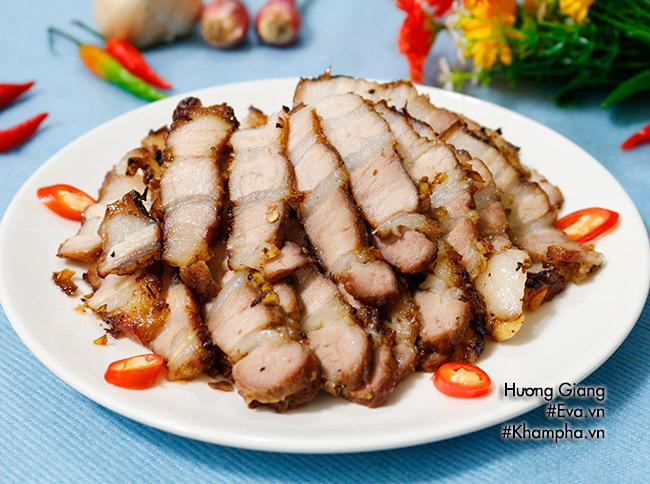[Chế biến] - Thịt ba chỉ nướng sả ớt tuyệt ngon cho cuối tuần