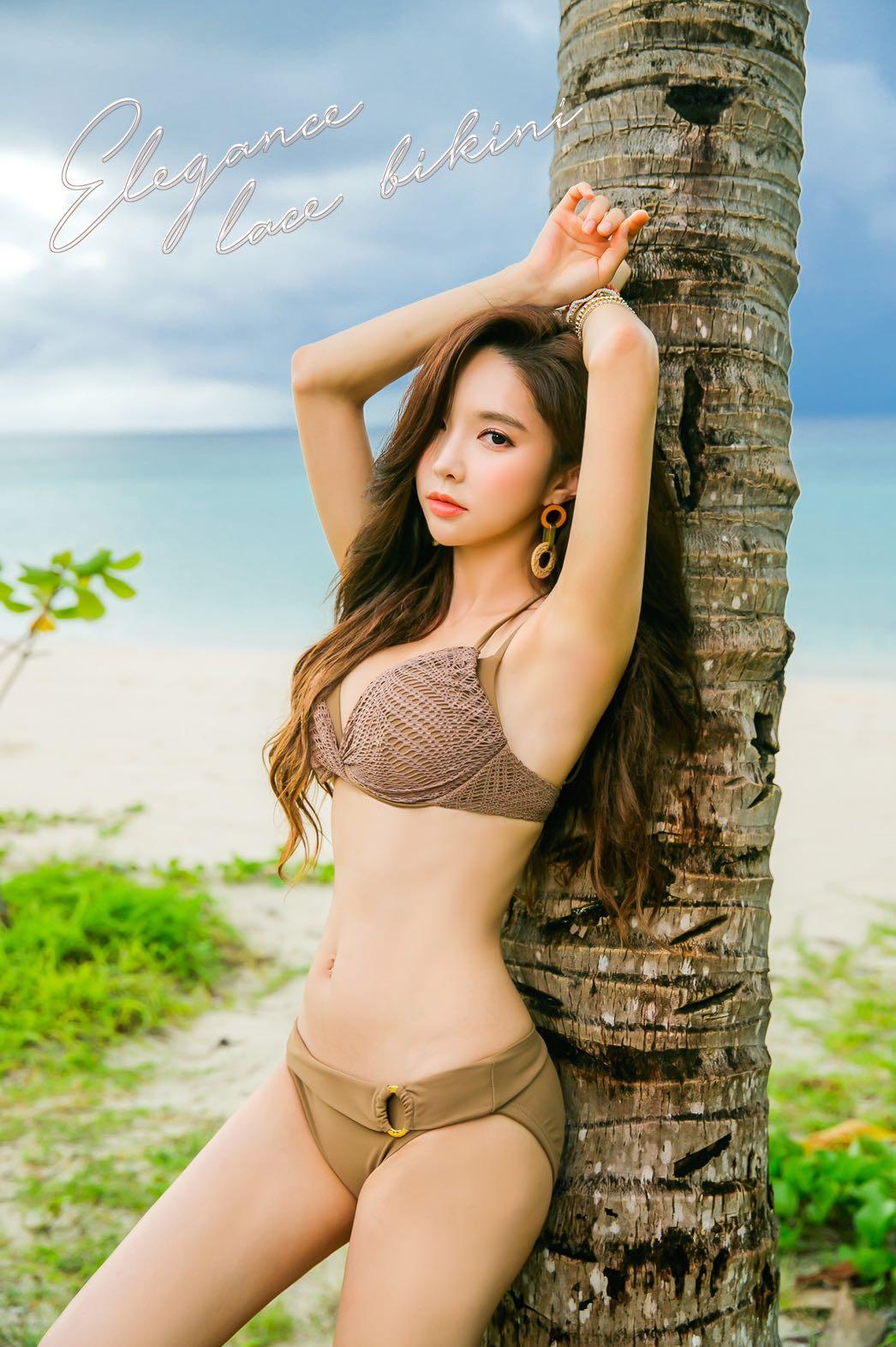 Người đẹp Park Soo Yeon khoe dáng gợi cảm