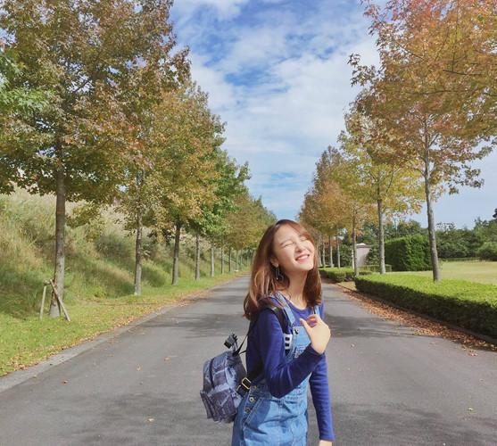 Nhan sắc ngọt ngào của nữ du học sinh Việt tại Nhật gây ấn tượng
