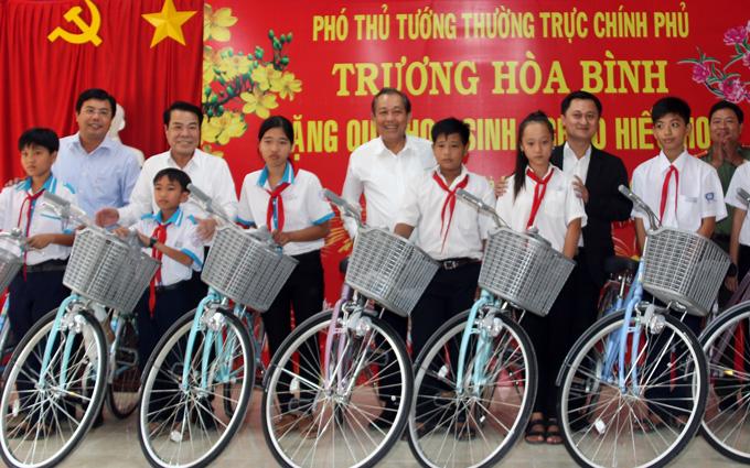 PTT Trương Hòa Bình: Cà Mau cần khai thác tốt hơn tiềm năng
