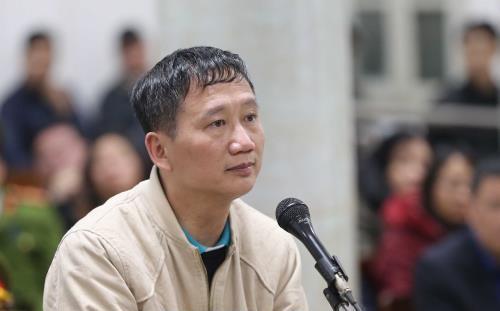 Bị cáo Trịnh Xuân Thanh ân hận và gửi lời xin lỗi tới nhân dân