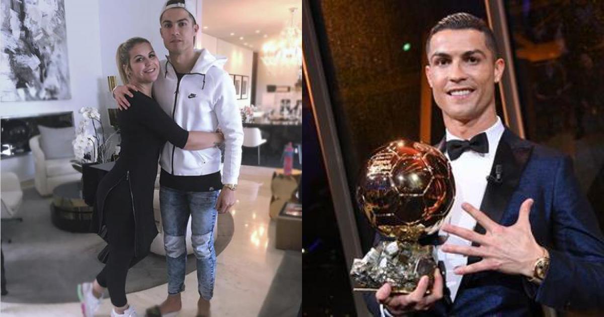 Chị gái xinh đẹp lên tiếng động viên C.Ronaldo