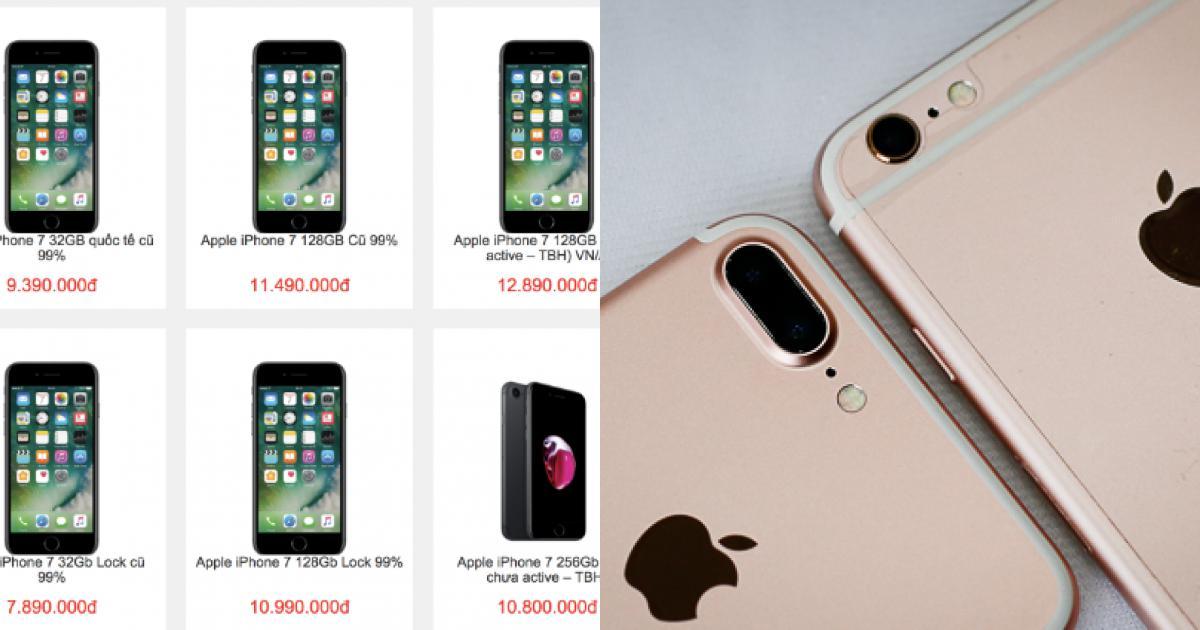 iPhone đời cũ giảm giá sâu trước Tết