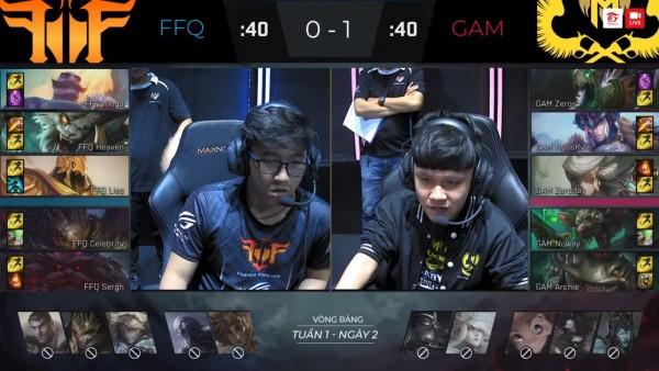 LMHT: Ra mắt dàn tân binh siêu khủng, GAM hủy diệt hoàn toàn FFQ 2-0, QTV chính thức...xuống tóc