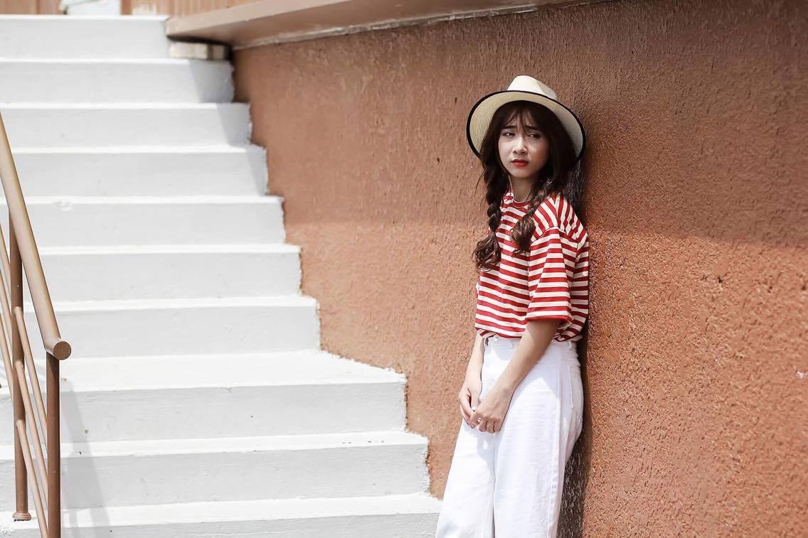 Cô em gái giống Nhã Phương như đúc nhưng gu thời trang thì chất hơn chị vài bậc!