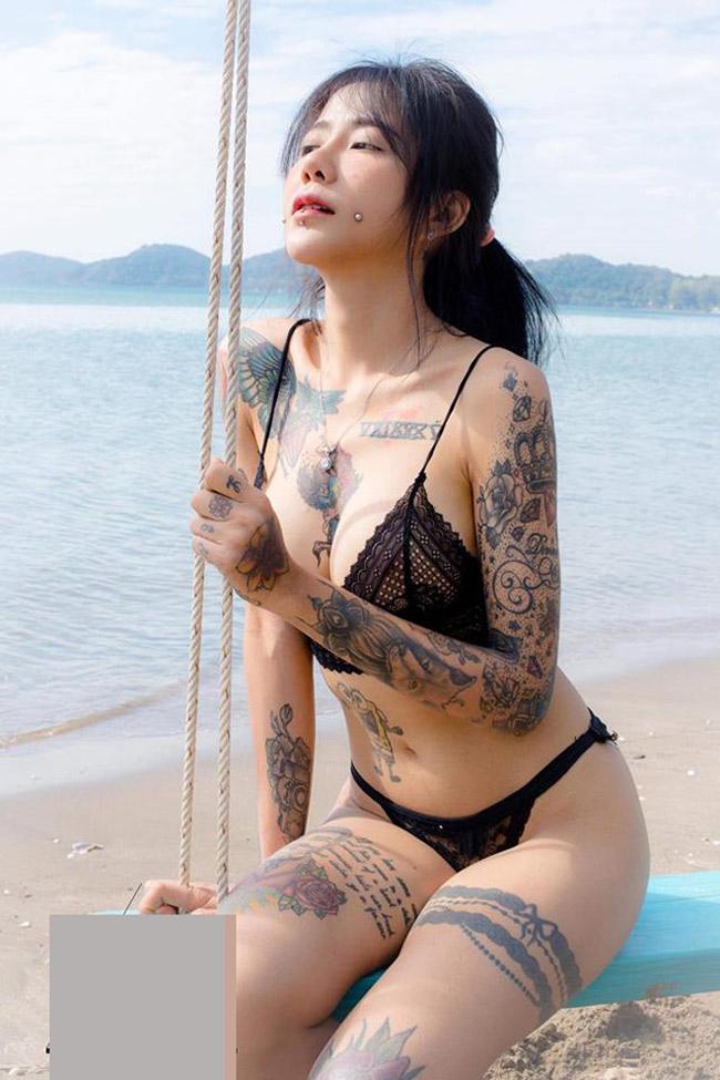 Cơ thể chi chít hình xăm, thiếu nữ vẫn gây sốt vì vẻ đẹp dịu hiền