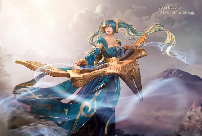 Chiêm ngưỡng cosplay Sona tuyệt đẹp trong Liên Minh Huyền Thoại