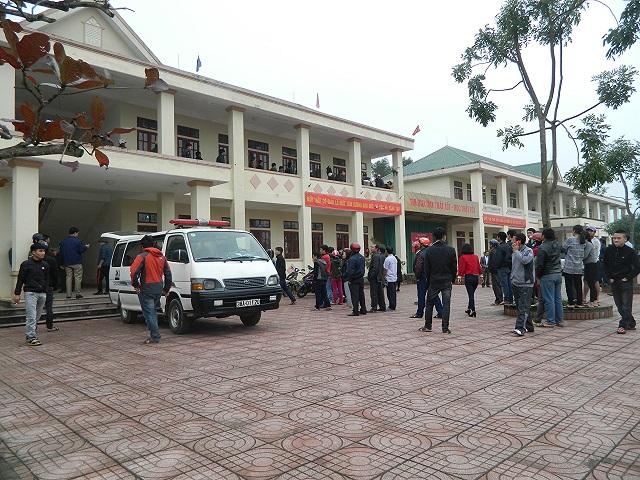 Hà Tĩnh: Học sinh tự tử trong lớp học để lại thư tuyệt mệnh