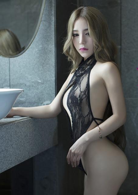 hot girl sieu quyen ru voi bikini ren mong c2d6d6 Hot girl siêu quyến rũ với bikini ren mỏng