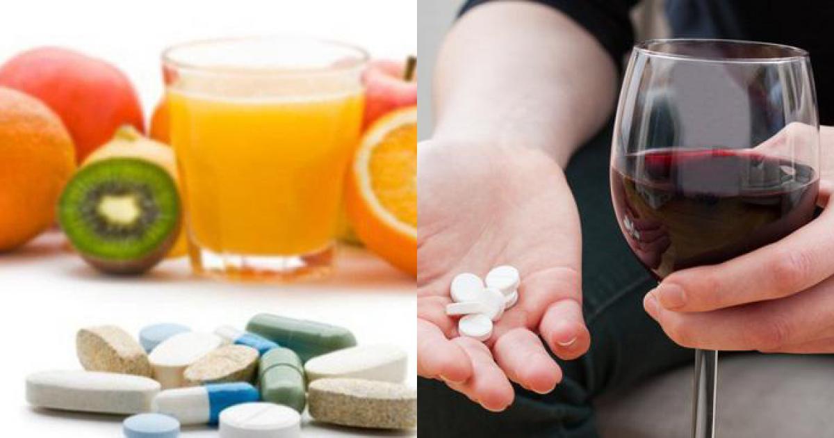 Những thực phẩm cần tuyệt đối tránh nếu đang uống kháng sinh