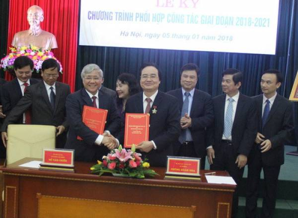 Bộ GDvàĐT ký kết Chương trình phối hợp với Ủy ban Dân tộc - Hình 1