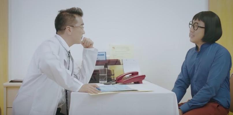 Đi chữa bệnh... xàm xí, Trấn Thành bị bác sĩ Đàm Vĩnh Hưng mắng xối xả
