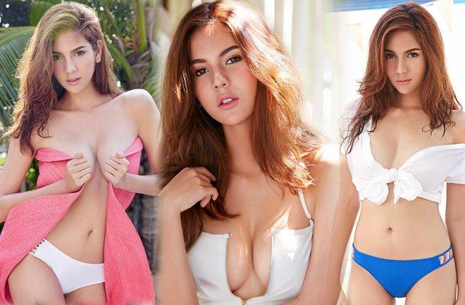 mau thai lan dien ao tam khieu goi trang nhu bong buoi e6cd4f Mẫu Thái Lan diện áo tắm khiêu gợi trắng như bông bưởi