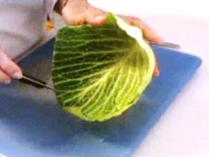Cách tỉa lá bắp cải đẹp mà không khó - Hình 3