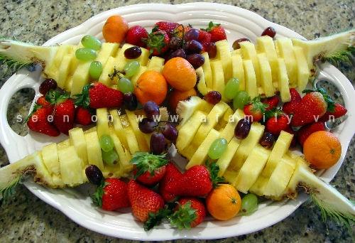 Tỉa trái cây nhanh mà đẹp, đơn giản mà bắt mắt - Hình 9