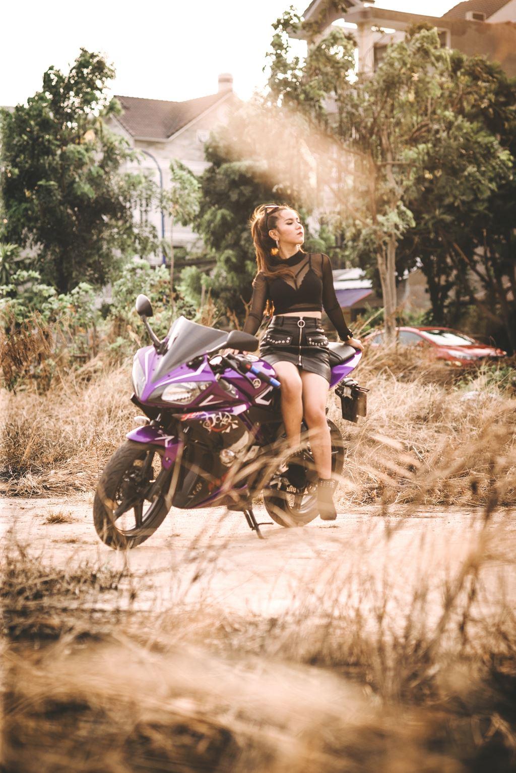 Bóng hồng Sài Thành đọ dáng Yamaha YZF-R15 Joker - Hình 11