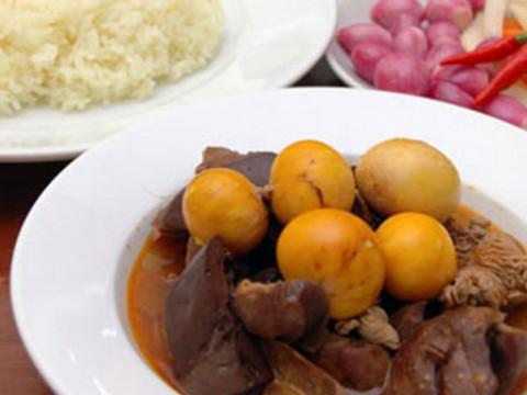 Bữa cơm đậm đà với lòng gà kho tiêu - Hình 5